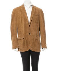 Suede blazer medium 334276