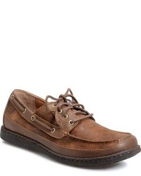 Brn harwich boat shoe medium 800920