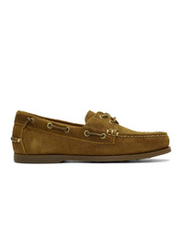 Polo Ralph Lauren Brown Suede Merton Loafers