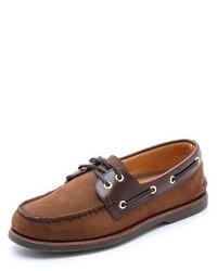 Gold ao 2 eye boat shoes medium 153684