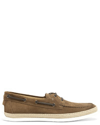 Tod's Suede Deck Shoes