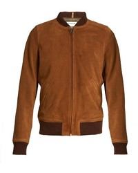 Patty suede bomber jacket medium 781827