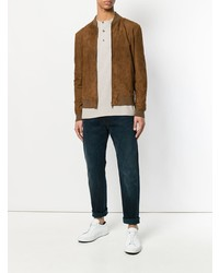 Salvatore Santoro Slim Fit Bomber Jacket