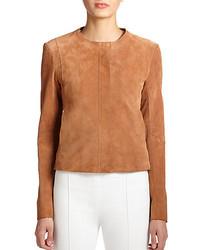 The Row Spiketon Suede Jacket