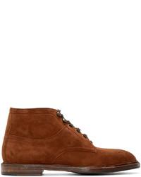 Dolce & Gabbana Brown Marsala Boots