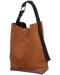 Marni Medium Halo Pod Suede Bucket Bag
