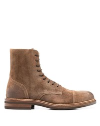 Brunello Cucinelli Ankle Length Lace Up Boots