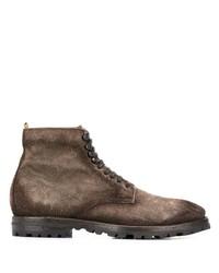 Officine Creative Aspen Lace Up Ankle Boots