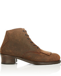 Barbanera Buster Oiled Suede Boots