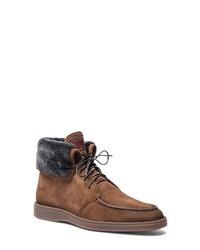Santoni Dethrone Genuine Moc Toe Boot