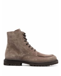 Brunello Cucinelli Lace Up Ankle Boots