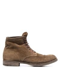 Premiata Lace Up Suede Boots