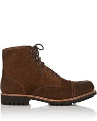 Grenson Radley Burnished Suede Boots