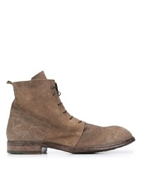 Moma Suede Lace Up Ankle Boots