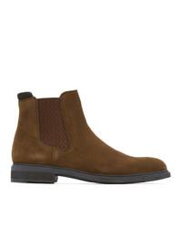BOSS Brown Firstclass Chelsea Boots
