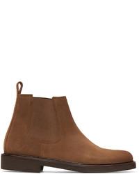 A.P.C. Brown Simeon Chelsea Boots