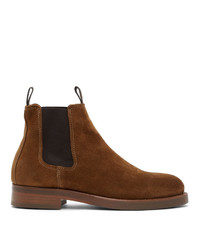 Belstaff Brown Suede Longton Boots