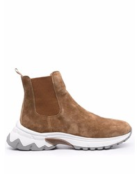 Eleventy Chunky Sole Boots