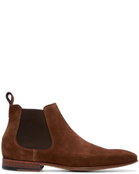 Paul Smith Ps By Brown Falcone Chelsea Boots
