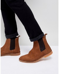 Selected Homme Suede Chelsea Boot