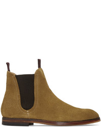 Tan suede tamper chelsea boots medium 827958