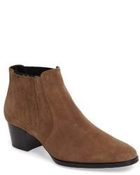 Tods western block heel chelsea bootie medium 3730544