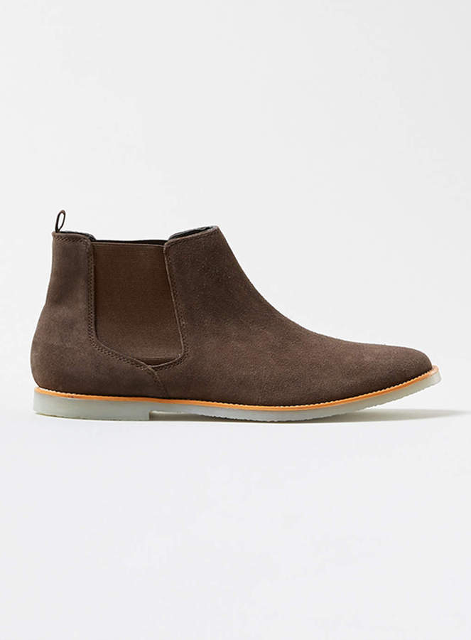 topman brown suede chelsea boots where to buy how to wear