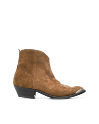Golden Goose Deluxe Brand Young Leather Cowboy Boots