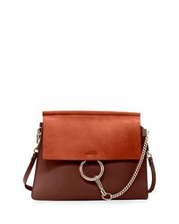 Chloe faye medium flap shoulder bag medium 729632