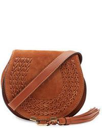 Chloe marcie small suede crossbody bag medium 1246844