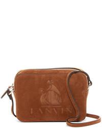 Lanvin Mini Nomad Suede Crossbody Bag