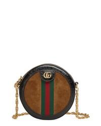 Gucci Mini Ophidia Round Shoulder Bag