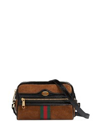 Gucci Ophidia Small Suede Leather Crossbody Bag
