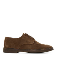 Drakes Brown Chard Moc Toe Derbys