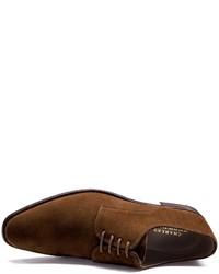 Charles Tyrwhitt Brown Grosvenor Suede Derby Shoes