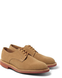 Mark McNairy Contrast Sole Suede Derby Shoes