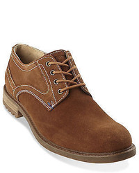 Hush Puppies Roghan Rigby Suede Plain Toe Oxfords Casual Male Xl