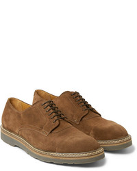 Paul Smith Shoes Accessories Thom Suede Derby Shoes