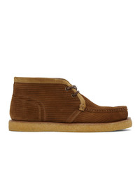 Dolce and Gabbana Brown Suede Desert Boots