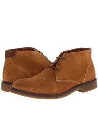 Johnston & Murphy Copeland Chukka Lace Up Boots Camel Suede