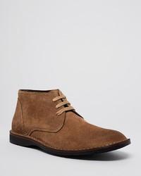 John Varvatos Star Usa Hipster Corded Suede Chukka Boots