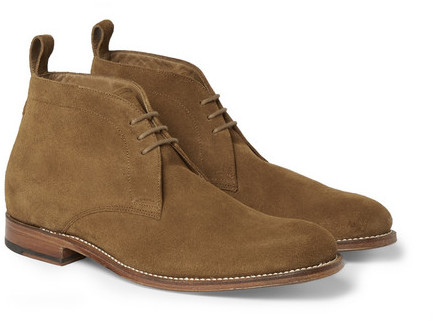 Grenson Marcus Suede Chukka Boots, $430