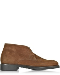 Seattle brown suede ankle boot wrubber sole medium 666484