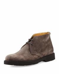 Men s Brown Suede Boots by Giorgio Armani   Men s Fashion 1c8dae62f6f
