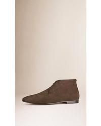 Burberry Suede Desert Boots