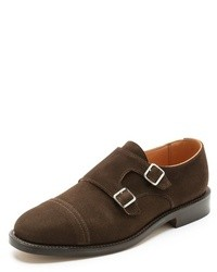 New amsterdam double buckle monk shoes medium 16097