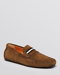 Bally Suede Wabler Driving Loafers