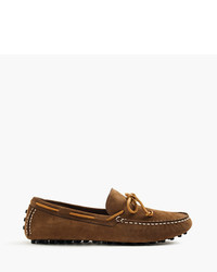 J.Crew Sperry For Suede Driving Moccasins