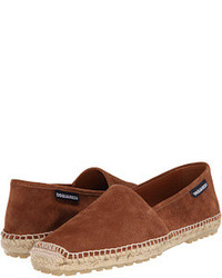 DSQUARED2 Suede Espadrille Slip On Shoes