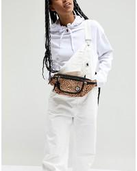 Hype Leopard Print Bum Bag